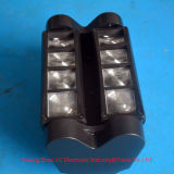 최신 판매 8*5W RGBW 소형 LED 거미 이동하는 맨 위 빛