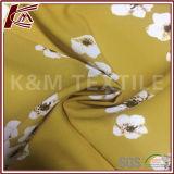 꽃 패턴 인쇄 100%년 폴리에스테 Crepe 직물