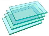 vidrio de flotador del claro de 2mm-8m m para el edificio