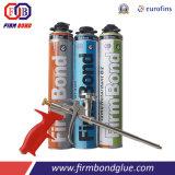Espuma incombustible adesiva imediata do plutônio da isolação