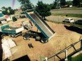 ダンプカーの完全なトラックのトレーラーをダンプするCimc 10cbm