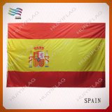 Spanien-nationale Land-Markierungsfahne des Polyester-75D (HYNF-AF026)