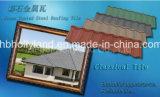 Tuile de toiture enduite en pierre en métal (tuile classique)