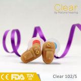 질 청력 감소를 알맞도록 하는 온화한을%s 보이지 않는 CIC 보청기
