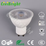 7W GU10 LED Bulb Dimmable PMMA Lens LED Lamp Spotlight