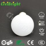 Blanco caliente 6W R50 plástico del aluminio LED de la lámpara del reflector