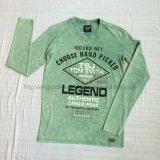 Фуфайка зеленого наградного прогара человека моя в шлямбуре износа Knit спорта одевает Fw-8668
