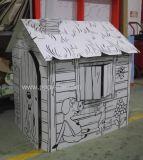 ورقيّة قطع منزل, ورقيّة لعبة منزل, ورق مقوّى منزل