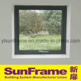 Алюминиевый верхний откидной окно с черной рамкой