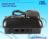 1 de Telefoon van VoIP van kanalen, IP Telefoon met SIP&H. 323 (EP-636)