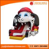 2018 alta calidad de 0,55mm inflables de lona de PVC Partrol Dog Slide (T4-690)
