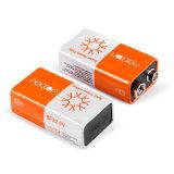 Supertrockene Hochleistungsbatterie des Kohlenstoff-Zink-9V 6f22