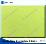 In het groot Countertops van het Kwarts voor de Stevige Bovenkanten van de Keuken van de Oppervlakte met Ce- Certificaat (zuivere kleuren)
