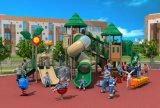 Attraktives Appearanceoutdoor Kind-Spielplatz-Geräten-Plättchen HD17-003A