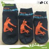 Customized Jump Indoor Custom Non Slip Meias Yoga Sock Ankle Meias para trampolim