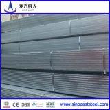 Conduttura d'acciaio quadrata galvanizzata (Q195-Q345)