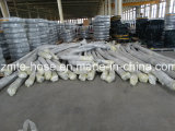 4 boyau en caoutchouc de pompe concrète des couches 85-200bar de fil