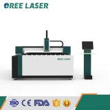 Machine de découpage à plat de coupeur de laser de fibre en métal de commande numérique par ordinateur