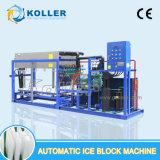 Máquina automática do bloco de gelo da eficiência elevada de um Koller de 3 toneladas