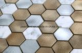 台所壁の装飾のアルミニウムモザイク組合せの石