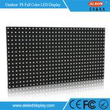 Prateleira de tela LED de cor completa fixa ao ar livre com FCC