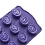 La FDA délivrent un certificat le moulage matériel de silicones de catégorie comestible, moulage de /Chocolate de moulage de pudding de silicones de Taffy/moulage silicones de Taffy