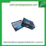 カスタム塗被紙の上及び底ふたボックスカラーパッキングギフト包装ボックス