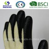 вкладыш 13G Кевлар с перчатками работы покрытия нитрила пены