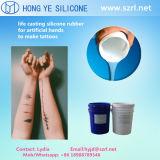 I tatuaggi pelano i siliconi sicuri del pezzo fuso della gomma/vita del silicone di RTV