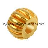 Gold überzogene Edelstahl 18k Raupen