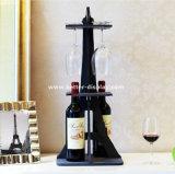 De in het groot Duidelijke Plastic Doos van de Gift van het Glas van de Wijn