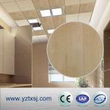 木製デザイン印刷PVC天井のタイル