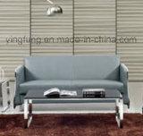 Nuovo sofà dell'ufficio progetti con di base metallica inossidabile (SF-6073)