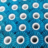 Brosse en cuir Roto en tissu avec filament en nylon doux