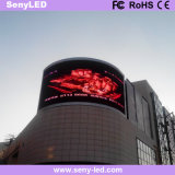 P8 anuncios de video en el Exterior de pared LED