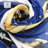 Neue lange Baumwollschal-Dame Fashion Scarf Printed mit Troddel