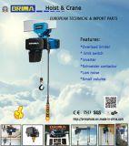 250kg het Europese Elektrische Hijstoestel van de Ketting met Elektrisch Karretje