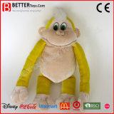 Singe mou bourré bon marché de jouet animal de peluche pour des enfants