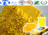 Qualitäts-gelbe Farbe Masterbatches für die Herstellung des Winkel- des Leistungshebelsheizfadens