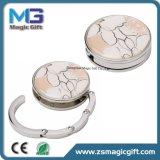 Heiße Verkäufe kundenspezifisches Kristallmetall Baghanger mit Rhinestone