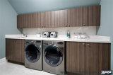Moderne Art-hölzerne Eitelkeits-Badezimmer-Möbel-Eckschrank-Geräte
