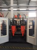 Máquina automática de moldagem por sopro de extrusão de estação dupla