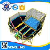 Heißes verkaufentrampoline-Innenspielplatz-Gerät (YL-BC010)