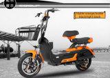 電気ペダルのモペットの通りのバイク、大人のためのシートが付いている電気スクーター