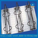Neuer Typ Baumaterialien galvanisierte Stahl-Stab Binderdecking-Blätter