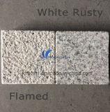 Mattonelle di marmo naturali nere grige bianche gialle del granito di G603/G654/G664/Rusty/