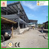 Taller ligero prefabricado rápido de la estructura de acero que ensambla en Samoa