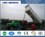 Les essieux Cimc Tri -3725m3-M3 côté Dump semi-remorque/semi-remorque de camion à benne basculante