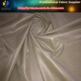 Ткань полиэфира, поли тафта Twill с печатание PU для пальто