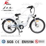36V City Bikeセリウム(JSL038XB-4)を持つ26インチの展開の女性